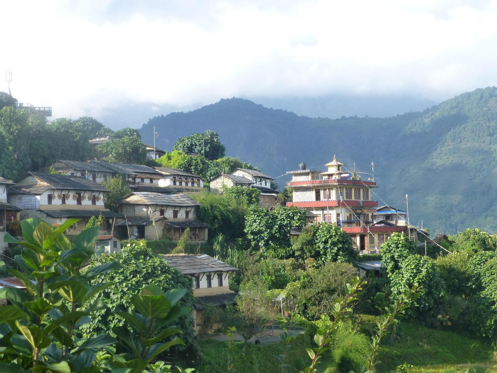 Melissa S au Népal